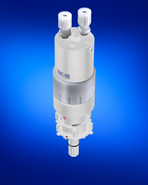 QC-M with integrated diaphragm pump
