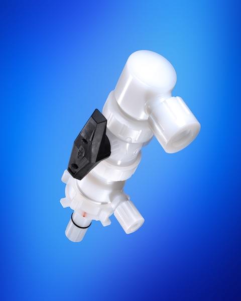QC2 Dispense head horizontal opening